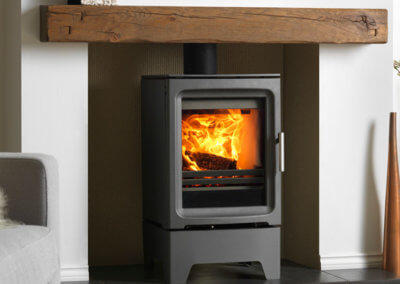 Purevision multi fuel stove Fireplace Finesse Bourne