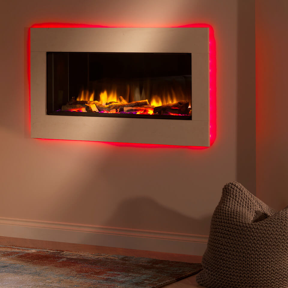 The Polaris Electric Fire by Fireplace Finesse Bourne