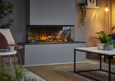 New Forest Electric Fire by Fireplace Finesse Bourne