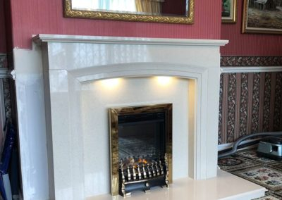 After-Fireplace Finesse